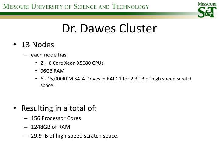 Dr. Dawes Cluster