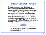 interactive design defined