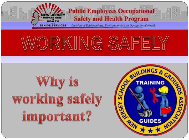 working safely n.