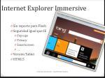 internet explorer immersive