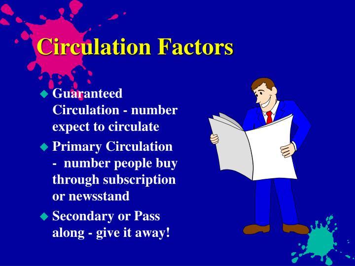 Circulation Factors