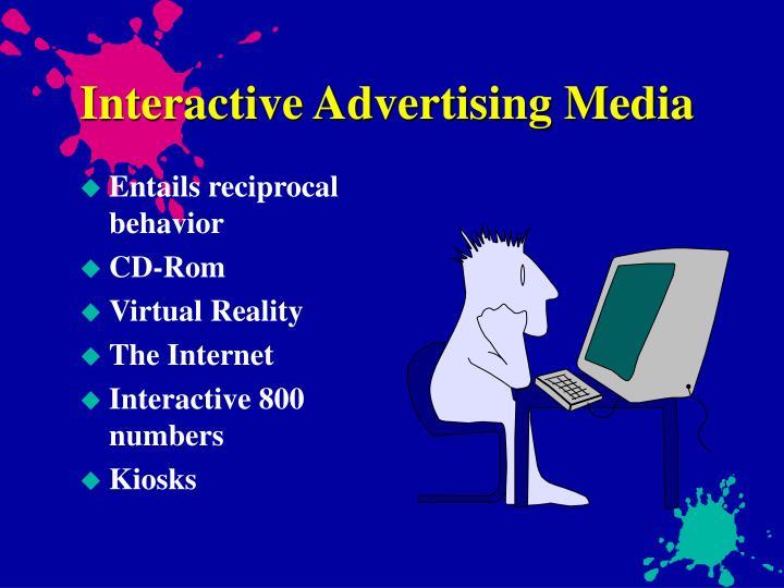 Interactive Advertising Media