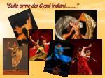 sulle orme dei gypsi indiani