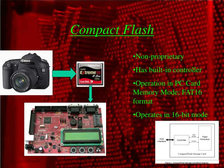 Compact flash