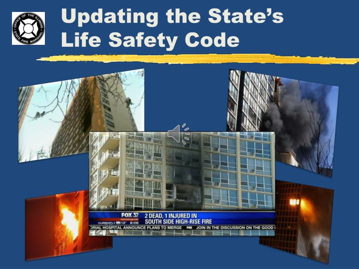 updating the state s life safety code n.