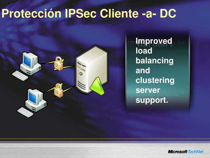 Protección IPSec Cliente -a- DC
