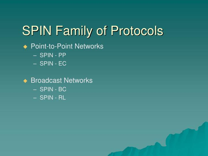 SPIN Family of Protocols