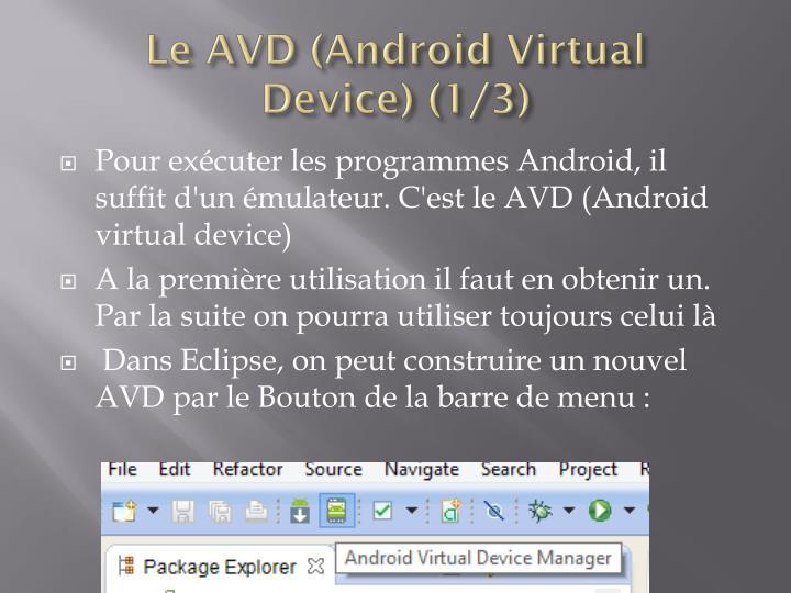 Le AVD (