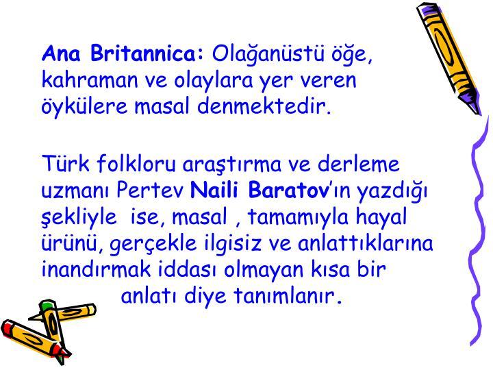 Ana Britannica: