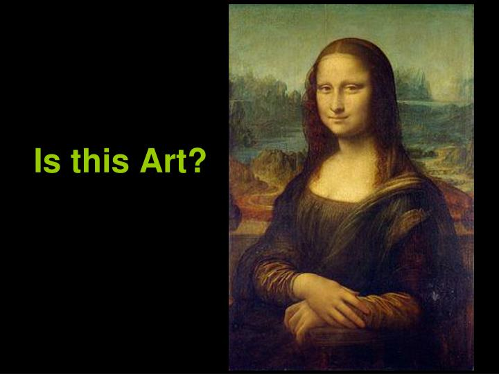 Is this Art?