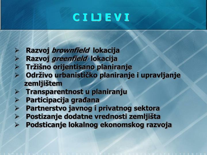 C I LJ E V I