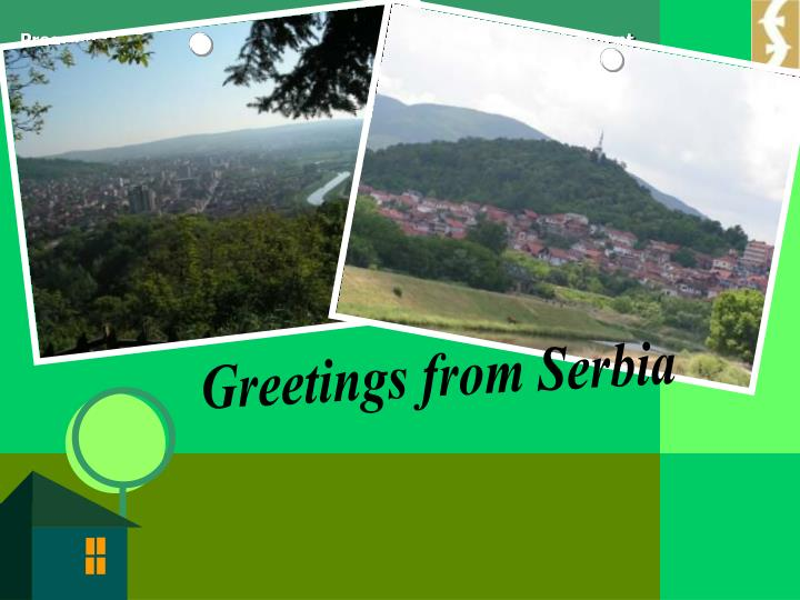 Greetings from Serbia