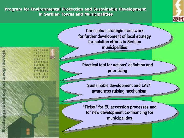 Conceptual strategic framework