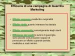 efficacia di una campagna di guerrilla marketing