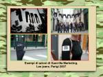 esempi di azioni di guerrilla marketing lee jeans parigi 2007