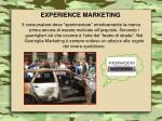 experience marketing