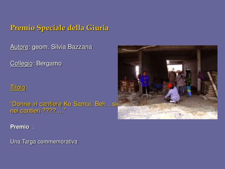 Premio Speciale