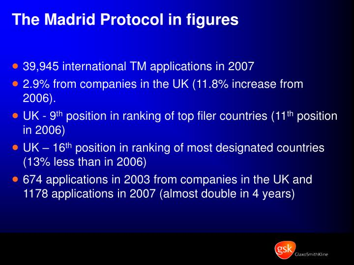 The Madrid Protocol in figures