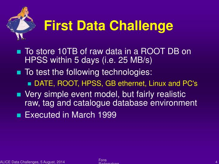First Data Challenge
