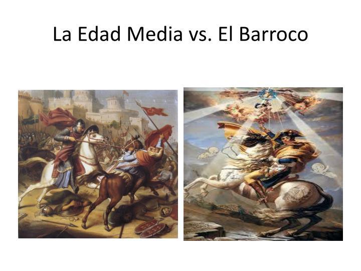 La edad media vs el barroco2
