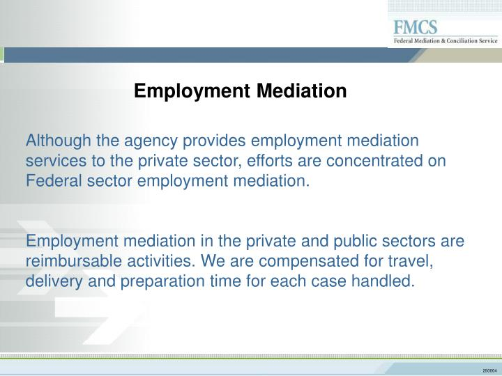 Employment Mediation