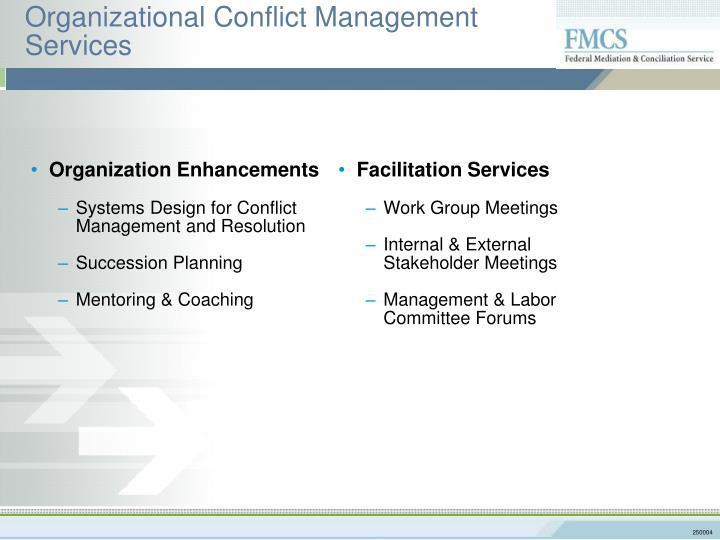 Organization Enhancements