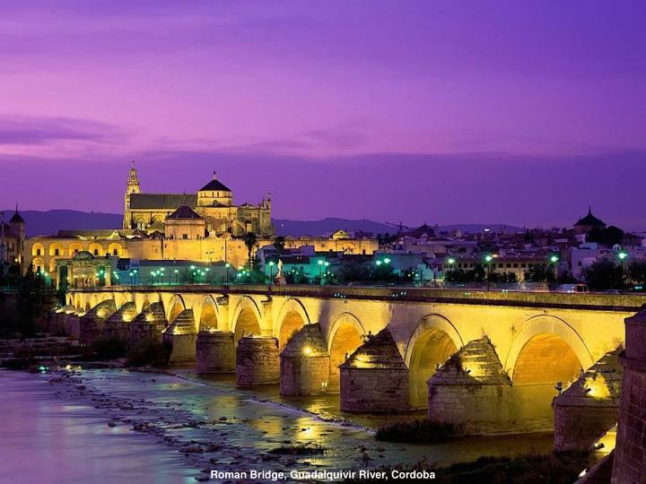 Roman Bridge, Guadalquivir River, Cordoba