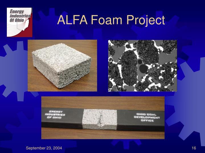ALFA Foam Project