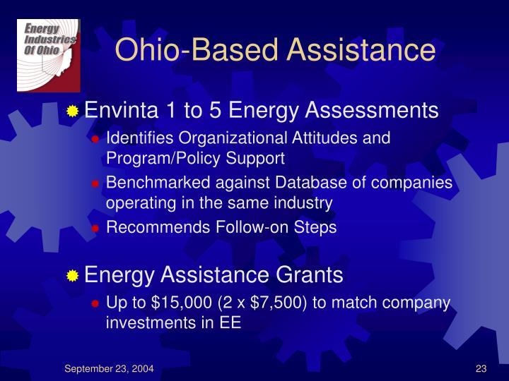 Ohio-Based Assistance