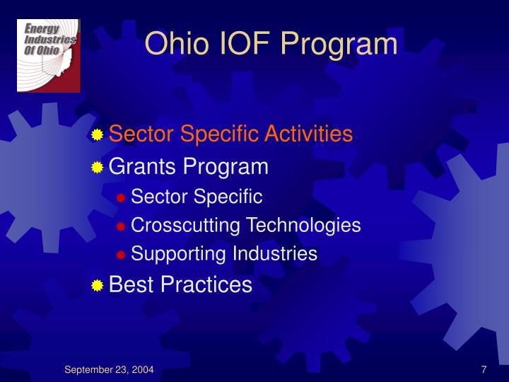 Ohio IOF Program