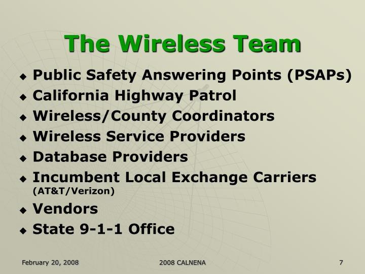 The Wireless Team