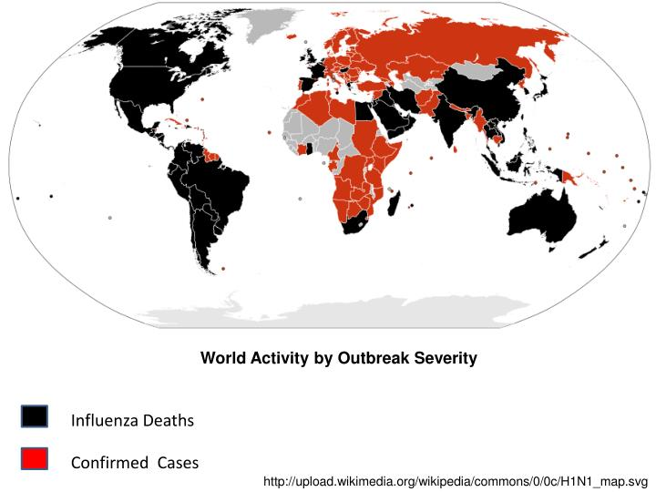 World Activity by Outbreak Severity
