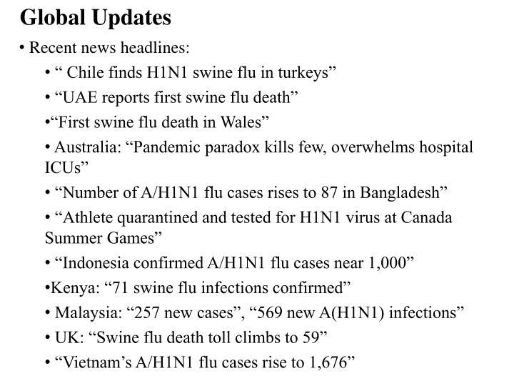 Global Updates