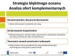 strategia b kitnego oceanu analiza ofert komplementarnych