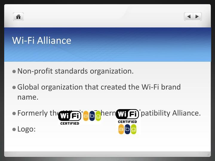 Wi fi alliance