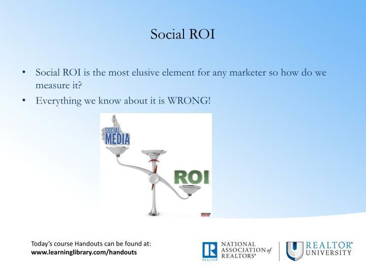 Social ROI