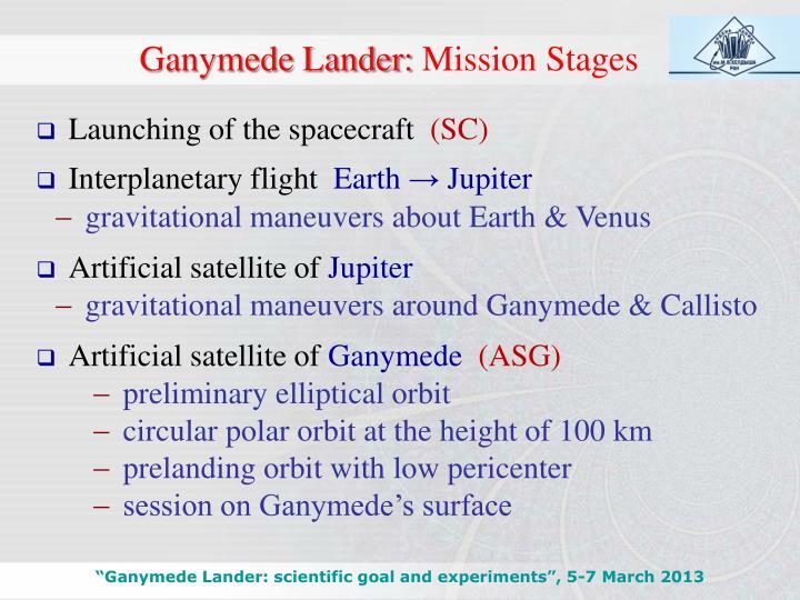 Ganymede Lander: