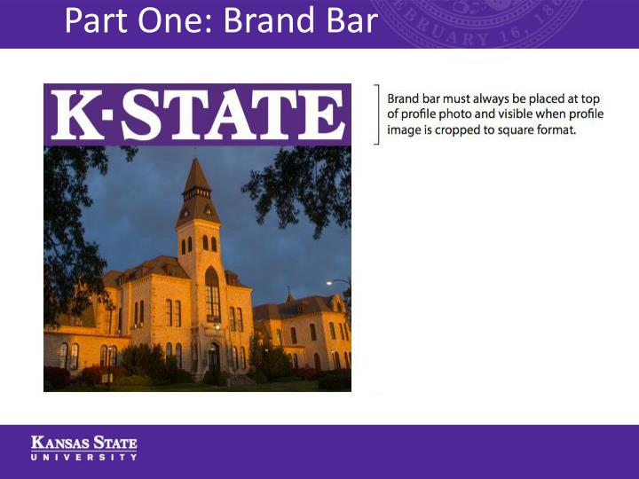 Part One: Brand Bar