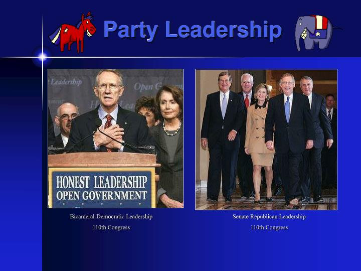Party Leadership