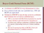 boyce codd normal form bcnf