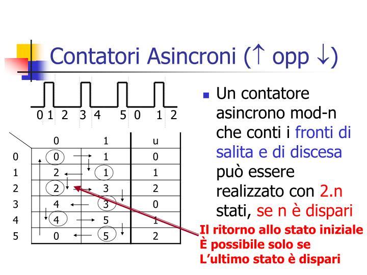 Contatori Asincroni (