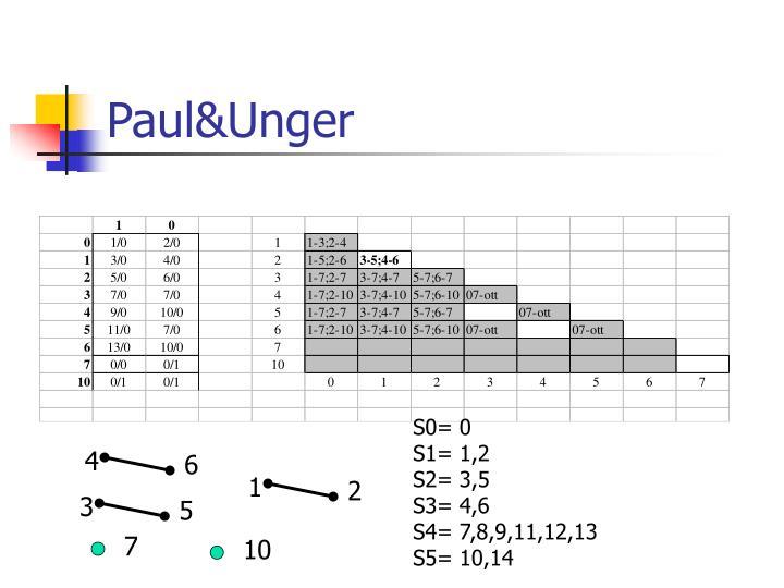 Paul&Unger