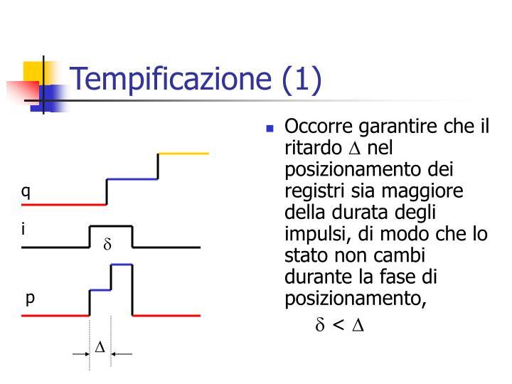 Tempificazione (1)
