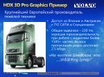hdx 3d pro graphics1