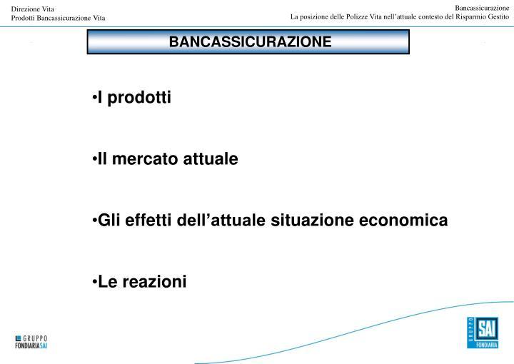 Bancassicurazione