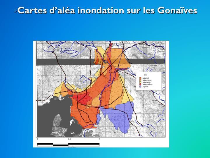 Cartes d'aléa inondation sur les Gonaïves