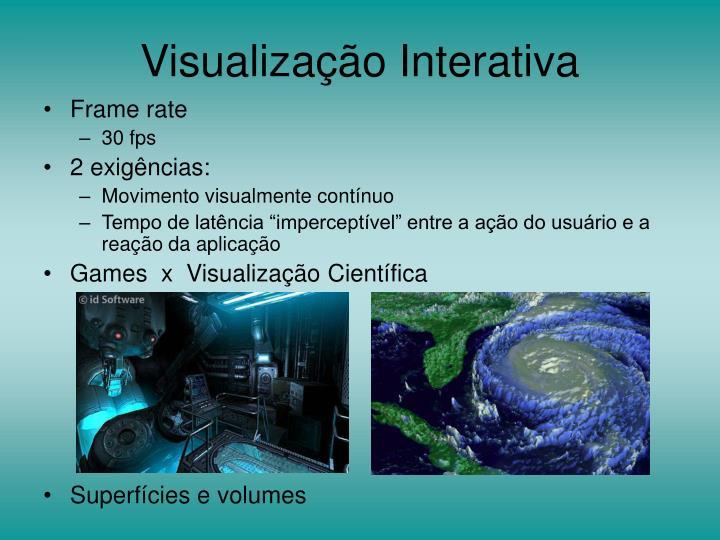 Visualização Interativa
