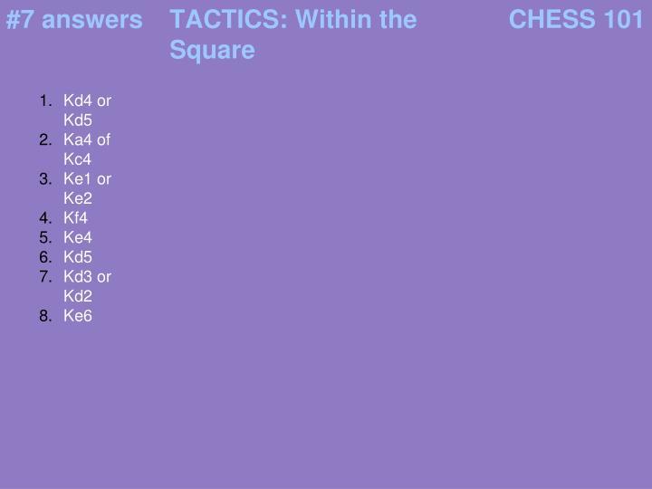 #7 answers