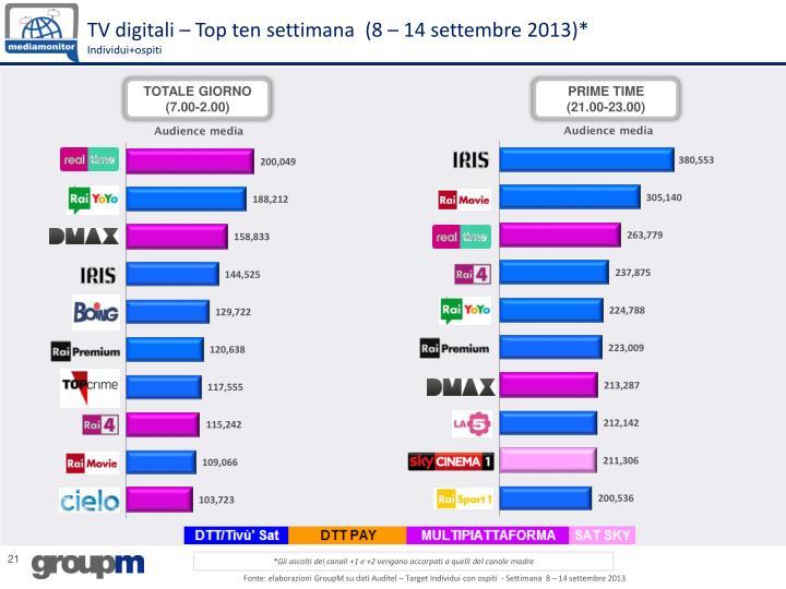 TV digitali