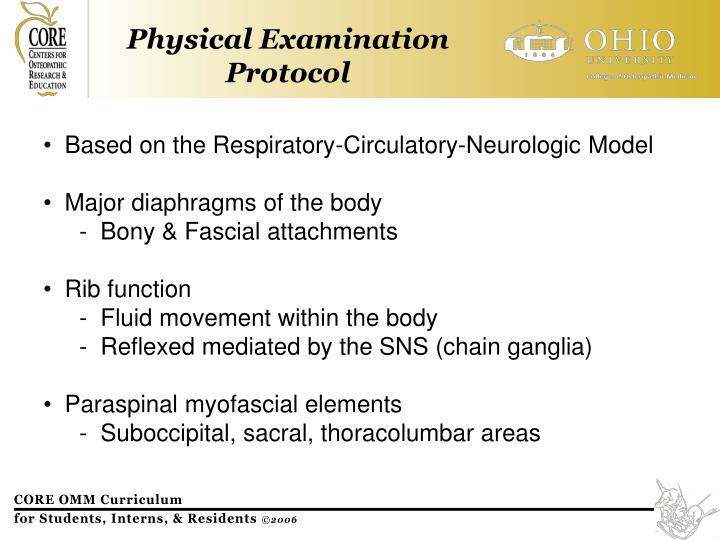 Based on the Respiratory-Circulatory-Neurologic Model